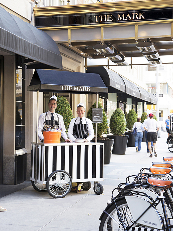 This summer  The Mark pays homage to New York s nostalgic love affair with  ice cream  launching The Mark Ice Cream Stand. 5 Star Hotels in New York City   The Mark Hotel   Blog   Madison